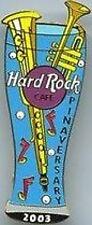 Hard Rock Cafe ONLINE 2003 Pinaversary PILSNER GLASS PIN HRO HRC Catalog #16903