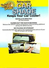 CASE OF RETRACTABLE AUTO SUN SHADE (15 total) Car/Truck/SUV//  Case Discount!