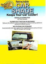 RETRACTABLE AUTO SUN SHADE - Car/Truck/SUV    Beat the HEAT!!