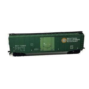 HO Lionel British Columbia Railway 50' Plug Door Box Car BCIT # T-20201