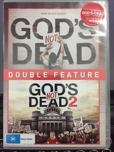 God's Not Dead 1&2 DVD AB8 modern Scopes trial (you can see that coming) +sequel