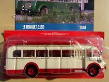 n° 69 RENAULT 215 D Autobus et Autocar du Monde année 1946 1/43 Neuf Boite NEW
