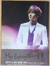 LEE MIN HO MY EVERYTHING 2013 GLOBAL TOUR IN SEOUL K-POP 2 DISC DVD SEALED