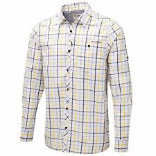 Cotton Blend Button-Front Casual Shirts for Men