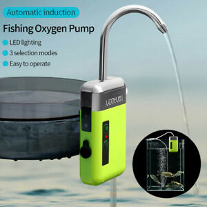 Rechargeable Water Electric Automatic Pumping Oxygen Pump Lighting Fishing Pump