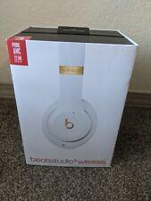 Beats by Dr. Dre Studio 3 Headband Wireless Headphones - White (E5)