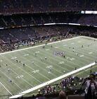 2 ATLANTA FALCONS @ NEW ORLEANS SAINTS NFL Football Tickets, 11/7/21