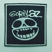"""GORILLAZ Embroidered Iron On Patch 3 """"  BAND"""