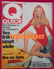 QUICK 1970 Nr 20: Sex im Auto / 4000 Seemeilen mit dem Schlauchboot