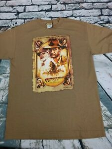 Vtg 2008 Indiana Jones And The Last Crusade Movie Promo Shirt Sz M