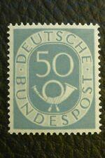 BRD/Bund POSTHORN Michel-Nr.: 134 (50 Pf) postfrisch geprüft Schlegel BPP
