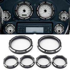 Motor CNC Speedometer Board Burst Gauge Bezel Fit Harley Touring FLHT FLHX 96-13