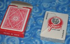 New Vintage Tiger Brand Playing Cards 565 Made In China USA Seller Next Day Ship