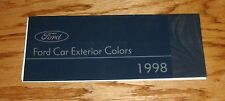 1998 Ford Passenger Car Exterior Colors Brochure 98 Mustang Thunderbird