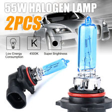 2 x 9005/HB3 55W Halogen Light Bright White Car Headlight Bulbs Lamp 12V 4500K