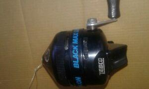 Vintage Zebco Black Max Limited Edition Rare fishing reel - Spincast