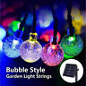 30 LED Solar String Ball Lights Outdoor Waterproof Christmas Yard Garden Decor