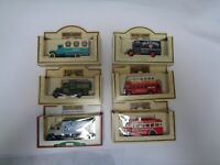Set of 6 Lledo Days Gone Diecast Double decker bus Aec Scammell Ind Coope Heinz