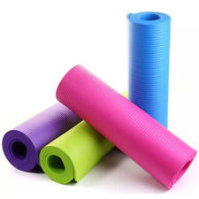 Colchonetas de yoga NBR para ejercicio físico sin sabor Pilate Gym Ejercicio
