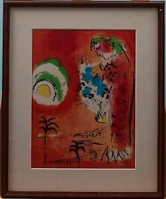 MARC CHAGALL LITHOGRAPH 'LA BAIE DES ANGES' FROM 1960