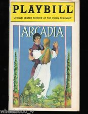 Broadway Playbill ARCADIA March 1995 Lincoln Center Theatre at Beaumont Exc.