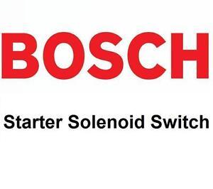 BOSCH Starter Solenoid Switch 2339304016