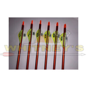 Easton FMJ 6MM Limited Edition Autumn Orange 470 - 6 PACK- 827147