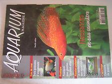 **aa Aquarium Magazine n°207 Tanichthys albonubes / Les guppys de concours