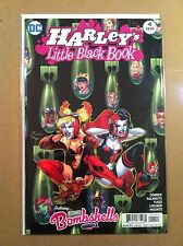 HARLEY'S LITTLE BLACK BOOK #4 REGULAR AMANDA CONNER COVER QUINN NM 1ST PRINTING