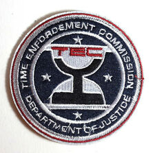 """Timecop Movie TCO Enforcement Comm  Embroidered 3.5"""" Patch- FREE S&H (MIPA-TC02)"""