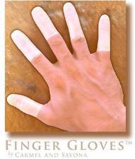 Reusable Rubber Finger Gloves(tm) for Durable and Versatile Finger Only Coverage