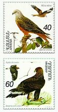 Armenia MNH** 1995 Flora Fauna First Issue Birds kite oak eagle Sc 499-500