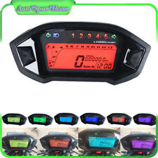 Latest Universal N5 Digital Gauge Tacho Speedometer Odometer Gear Fuel Indicator