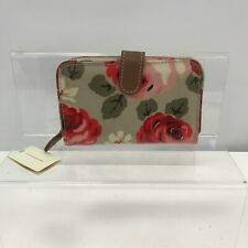 New Cath Kidston Purse Cardholder Wallet Multicoloured Floral Rose Print 301223