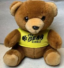 104.5 FM The Bear Vintage 1992 Plush Stuffed Radio