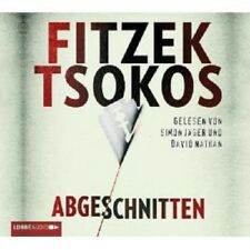 """SEBASTIAN FITZEK """"ABGESCHNITTEN"""" 4 CD HÖRBUCH NEU"""