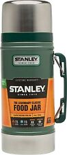 0.7L STANLEY CLASSIC VACUUM FOOD JAR FLASK STAINLESS STEEL HOT COLD THERMOS BN