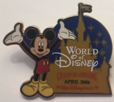 Disney World - World of Disney Grand Re-Opening April 2006 Mickey Mouse Cast Pin