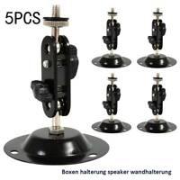5× Universal Wall&Ceiling Sound Microphone Speaker Mounts Brackets Holder Stands
