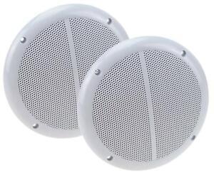 2x 100 Watt Außenlautsprecher wasserfeste Einbaulautsprecher Außen Lautsprecher