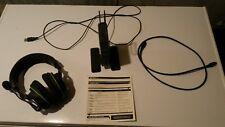 Wireless Gaming Headset Turtle Beach Ear Force XP500 Black/Green Bluetooth -Used