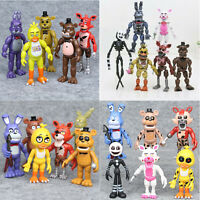 Five Nights At Freddy's FNAF Sister Action Figures Bear Foxy Bonnie Chica Gift
