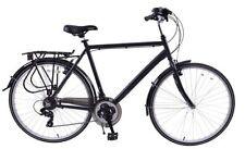 Men Hybrid/Comfort Bike Bicycles with Kickstand