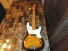 Sting REAL Signed Signature Model Fender P Precision Bass Guitar The Police COA