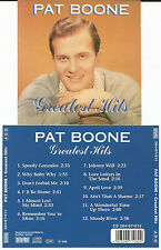 """PAT BOONE - Greatest Hits CD 1988 Bellaphon - NEU/NEW """"Love Letters in the Sand"""""""