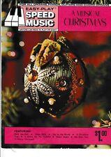"""""""A Musical Christmas"""" for all organs, pianos, guitars & chord organs."""
