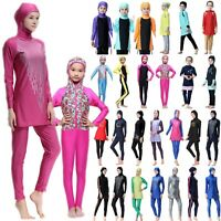 Muslim Girls Women Islamic Swimwear Modest Burkini Swimsuit Swimming Costume AU