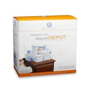Prince Lionheart Dresser Top Diaper Depot, Newborn Baby Nursery ~ New