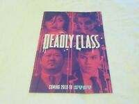 Image SDCC 2018 Exclusive SYFY Promo Deadly Class Comic Book