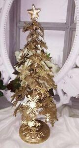 Weihnachtsdeko Hänger Engel oder Tannenbaum Vintage Weiß Shabby Antik D.12 cm